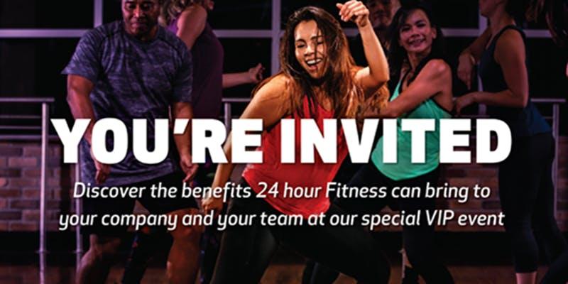 24 Hour Fitness Spring Energy VIP Sneak Peek